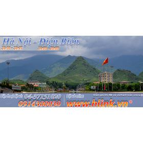 Vé xe khách Hà Nội - Điện Biên mua sắm online Vé máy bay, Tàu, Xe