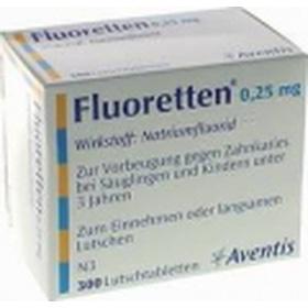 Fluoretten 0,25mg mua sắm online Vitamin, Thuốc, Sữa bầu