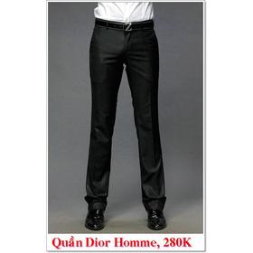 Quần Âu Nam Dior 280K mua sắm online Thời trang Nam