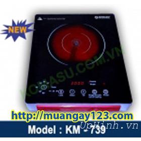 Bếp hồng ngoại cảm ứng Komasu KM-739 mua sắm online Lò, Bếp