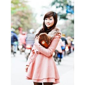 áo dạ vải gai hồng mua sắm online Thời trang Nữ