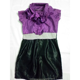 đầm tím + đen mua sắm online Thời trang Nữ
