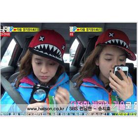 Mũ cá mập Jihyo mua sắm online Thời trang Nữ