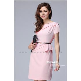 Đầm công sở Nhất dáng nhì da, hồng phấn mua sắm online Thời trang Nữ