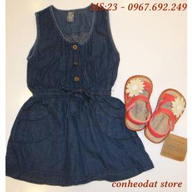 Váy bò bé gái từ 2 -10 tuổi mua sắm online