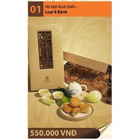 Hà Nội Kinh Điển - Loại 8 bánh mua sắm online Noel, Tết, 8/3, Trung thu