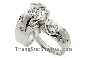 Nhẫn đôi Shaiya Đặc sản Hà Thành quà tặng ý nghĩa cho ngày yêu thương Ảnh số 4936525
