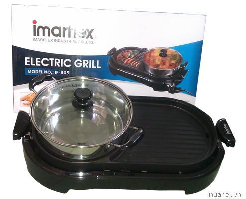 Bếp lẩu nướng 2 trong 1 imarflex Thai Land,Bếp điện lẩu nướng bếp lẩu nướng giá rẻ nhất chỉ có 890k Ảnh số 26018140