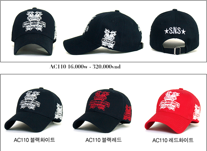 Korea Mũ lưỡi trai Cho bạn một phong cách mới. Update liên tục mẫu mã..... Ảnh số 27035066