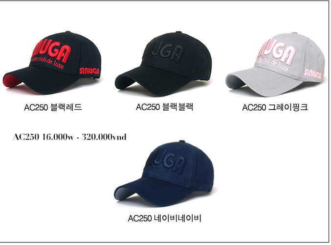 Korea Mũ lưỡi trai Cho bạn một phong cách mới. Update liên tục mẫu mã..... Ảnh số 27035143