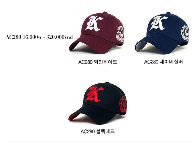 Korea Mũ lưỡi trai Cho bạn một phong cách mới. Update liên tục mẫu mã..... Ảnh số 27035242