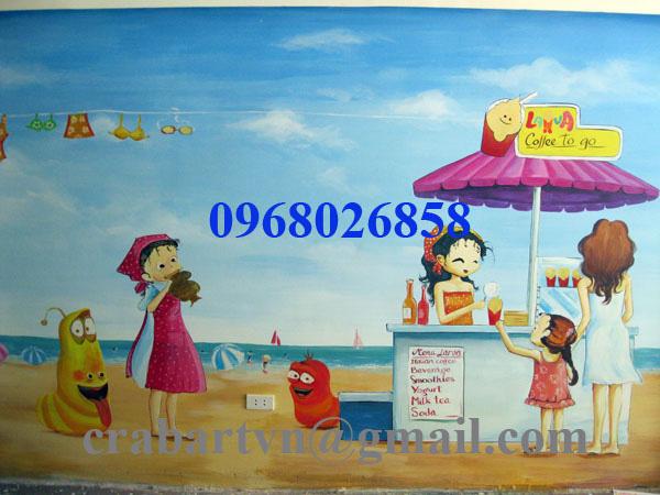 Vẽ tranh tường chất lượng cao giá rẻ. Ảnh số 27170379