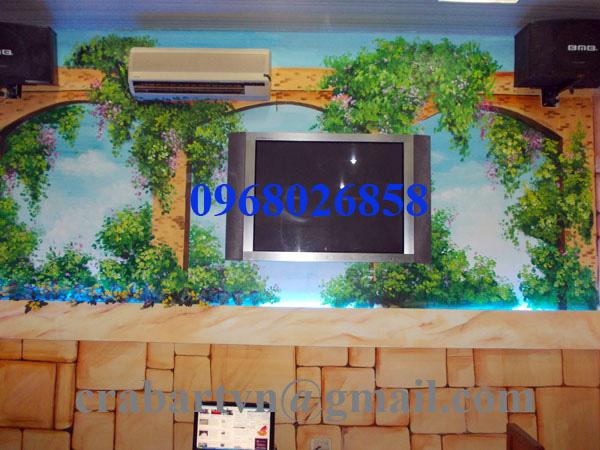 Vẽ tranh tường chất lượng cao giá rẻ. Ảnh số 27170444