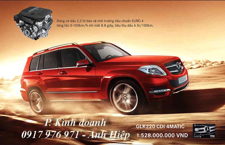 Bán mercedes GLK220 CDI máy dầu 2013, giá xe mercedes GLK 220 AMG tốt nhất chỉ có tại Vietnam Star Phú Mỹ Hưng Ảnh số 27319976
