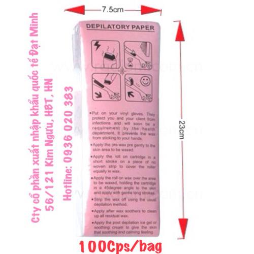 Miếng sáp tẩy lông cơ thể Shifei Body Legs Arms Ảnh số 27898655