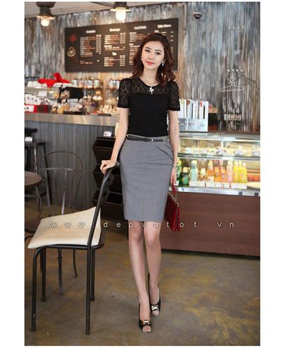 Đầm công sở Đẹp và Tốt: Chuyên sĩ lẻ đầm công sở phong cách hàn quốc. Mẫu đẹp, vải tốt, giá 290k Ảnh số 28212154