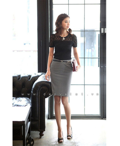 Đầm công sở Đẹp và Tốt: Chuyên sĩ lẻ đầm công sở phong cách hàn quốc. Mẫu đẹp, vải tốt, giá 290k Ảnh số 28212158