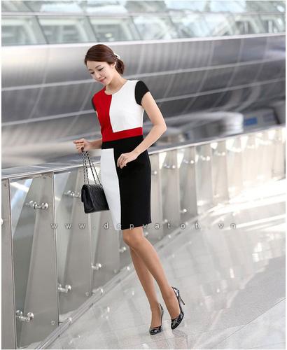 Đầm công sở Đẹp và Tốt: Chuyên sĩ lẻ đầm công sở phong cách hàn quốc. Mẫu đẹp, vải tốt, giá 290k Ảnh số 28212202