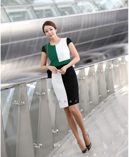 Đầm công sở Đẹp và Tốt: Chuyên sĩ lẻ đầm công sở phong cách hàn quốc. Mẫu đẹp, vải tốt, giá 290k Ảnh số 28212208