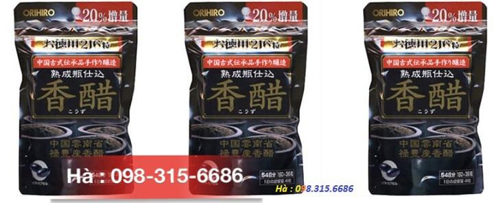 VIên uống trắng da 240v dấm đen giảm cân 216v DHA 1000 đặc trị viêm lỗ chân lông của Nhật Ảnh số 29364507