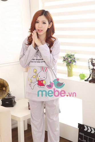 SHOP MEBE.VN Chuyên các mặt hàng thời trang như đầm bầu, váy bầu, váy bầu kết hợp cho con bú với giá sốc giảm tới 65% Ảnh số 30052294