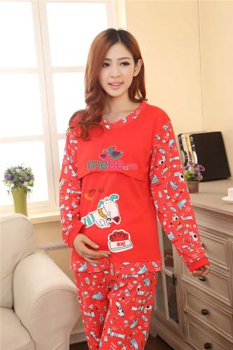 SHOP MEBE.VN Chuyên các mặt hàng thời trang như đầm bầu, váy bầu, váy bầu kết hợp cho con bú với giá sốc giảm tới 65% Ảnh số 30052308
