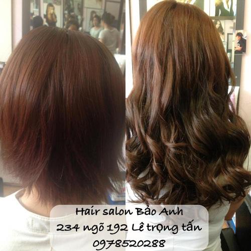 SALON BẢO ANH.Nối tóc tại nhà ,nối Sợi FiberGlass ko keo nối cực bền,đẹp, miễn phí nhuộm và ép tóc nối.Độ dài tuỳ ý. Ảnh số 30116426