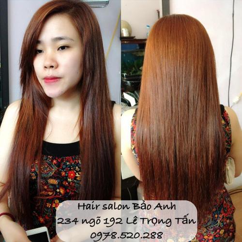 SALON BẢO ANH.Nối tóc tại nhà ,nối Sợi FiberGlass ko keo nối cực bền,đẹp, miễn phí nhuộm và ép tóc nối.Độ dài tuỳ ý. Ảnh số 30116450