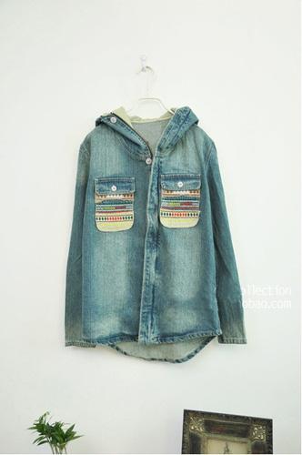 Áo khoác jean nữ, sơ mi jean nữ form đẹp, giá rẻ Ảnh số 30335737