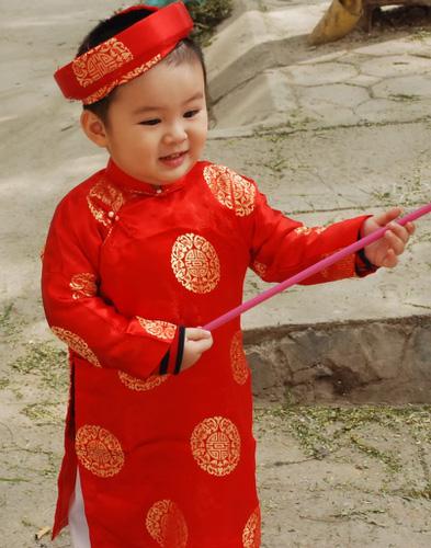 Cung cấp hàng sỉ các mẫu áo dài cho bé gái...mẫu mới cho các pé dịp tết về Ảnh số 30360703