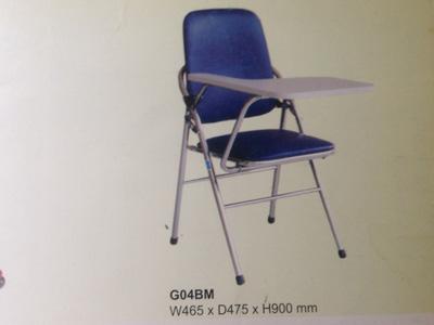 Ghế gấp hòa phát G04B  mặt ghi