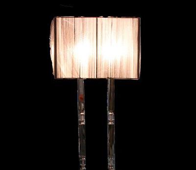 Đèn cây inox 617