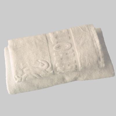 Khăn tắm dệt logo