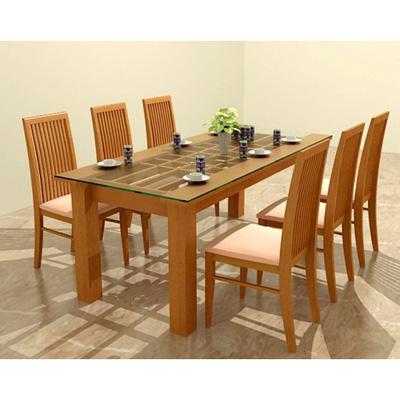 bộ bàn ăn cao cấp GBA04