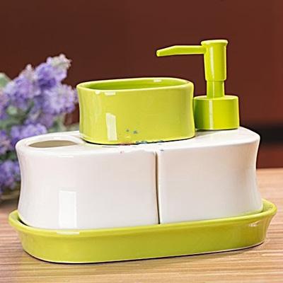 Bộ để đồ nhà tắm 4 thiết bị gọn gàng