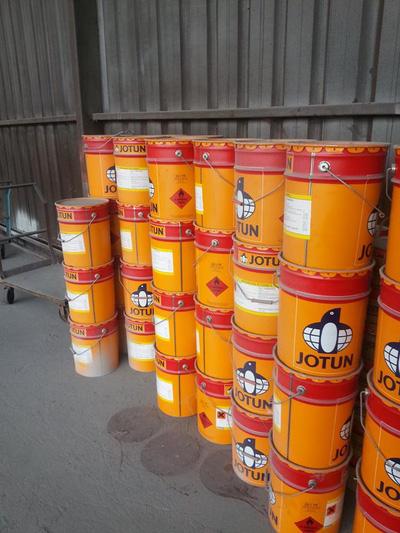 Sơn Epoxy Jotun Jotamastic 80 cho sắt thép ngâm nước