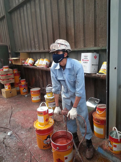 Sơn chống rỉ Epoxy Jotun Penguard Primer cho sắt thép kẽm