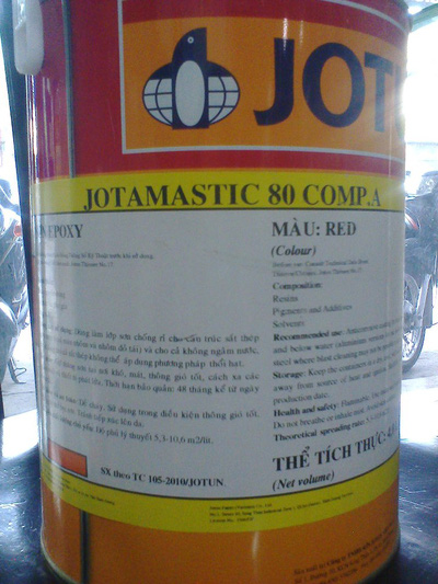 Mua Sơn Jotamatic 80 cho kết cấu sắt thép