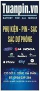 Pin điện thoại Scud Galilio cho Samsung LG Sky Nokia Sony Blackberry Moto Lenovo...Free Ship HN