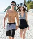 Đẹp từng centimet với Bộ đồ bơi đôi đi biển thời trang Hàn Quốc
