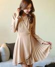 Váy liền thân Thời Trang Hàn Quốc: Váy xòe, váy ôm, váy công sở mùa thu đông 2014