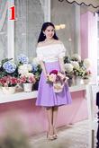 Hàng loạt kiểu đầm thời trang xinh xắn cho bạn lựa chọn tại Siêu thị toàn quốc