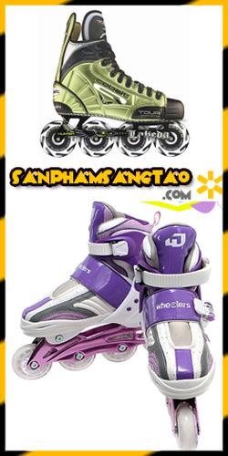 Ảnh số 10: Giày trượt ba tanh pa tanh pa tin ba tin giày truot cao cap gia re nhat Ha Noi - Giá: 790.000