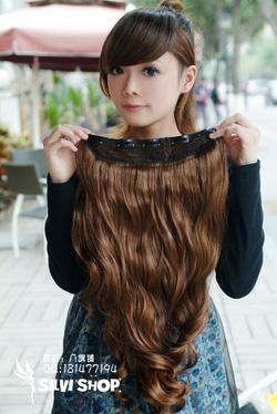 Ảnh số 59: tóc kep xoăn có 5 kẹp - Giá: 320.000
