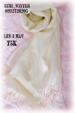 Ảnh số 2: khăn 1 màu kem - Giá: 75.000