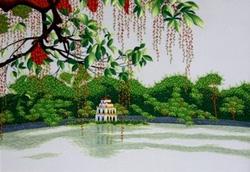 Ảnh số 81: Hồ Gươm lộc vừng nhỏ - Giá: 850.000