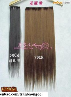 Ảnh số 31: tóc nối thẳng mềm mượt - Giá: 350.000