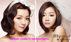 Ảnh số 72: Tóc bộ có da đầu Hàn quốc - Giá: 700.000