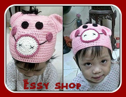 Ảnh số 13: Mũ móc trẻ em - Giá: 1.000