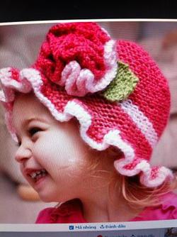 Ảnh số 19: Mũ móc trẻ em - Giá: 1.000